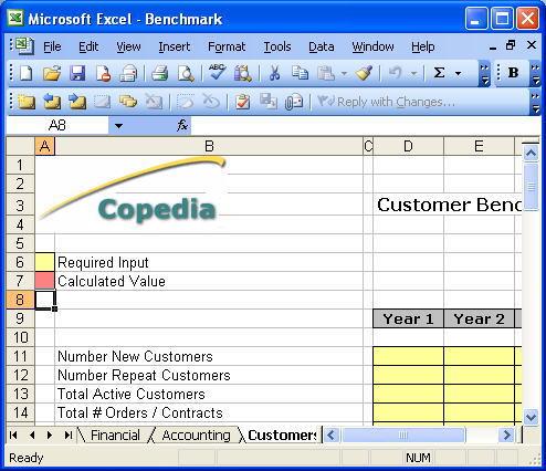 benchmarking accounting