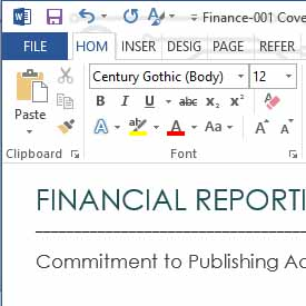 Financial Policy and Procedure Manual In MS Word and Excel.