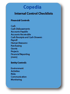 Internal Control Procedures and Checklist